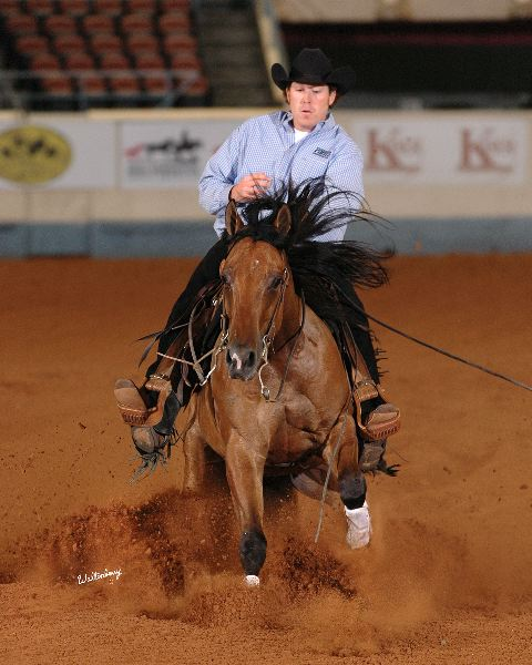 Smart Dundee Makes the Open Finals At the 2010 NRHA Futurity